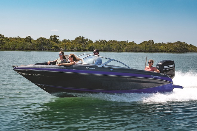 New Haines Signature 580BRX sports boating weapon