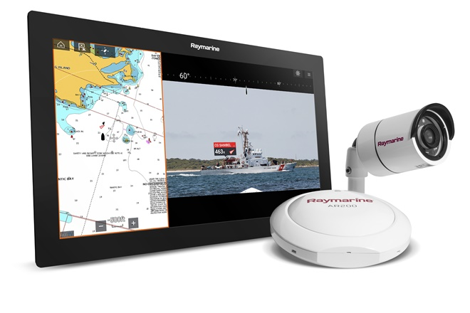 Raymarine ClearCruise Augmented Reality navigation technology