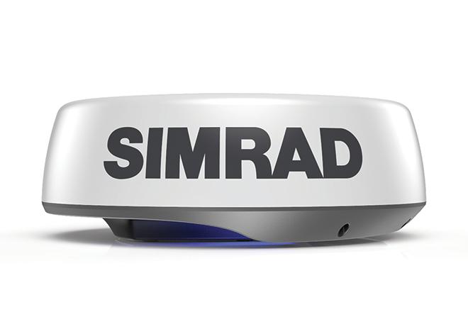 Lightweight Simrad HALO24 revolutionises dome radars