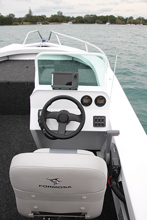 Sea-Rod 520 side console