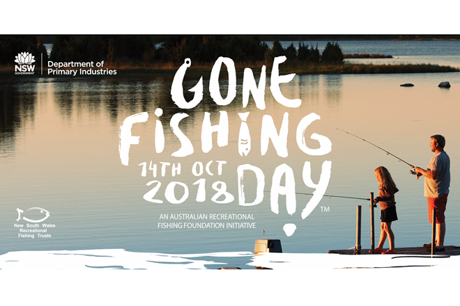 Reminder: NSW Gone Fishing Day is on this Sunday, Oct 14 2018