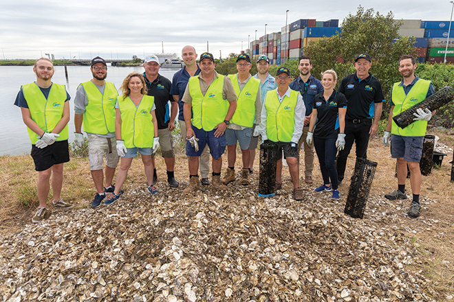 moreton bay shellfish recycling centre