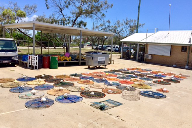 crab pot clean-up maroochy