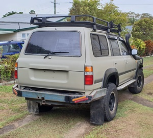 80 series toyota landcruiser build