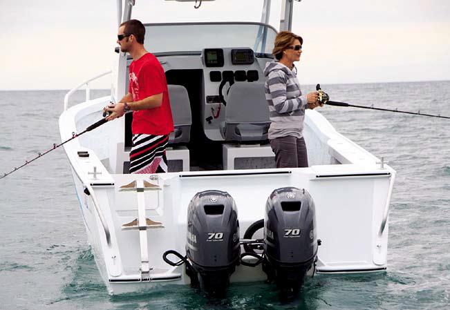 The Sea Jay 6.0 Freedom is a designated fishing boat. Photo: Sea Jay