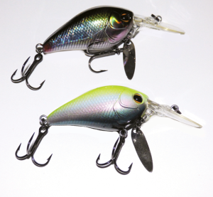 The Imakatsu Scarebrow Seven is a crankbait with a difference. The addition of a small willow blade below the bib gives this lure extra appeal when the fishing is tough.