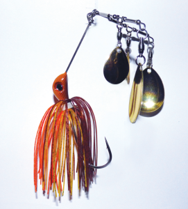 Bassman Spinnerbaits has recently improved its popular 4x4 Spinnerbait. With three arms and four big Colorado blades, it's sure to annoy plenty of Murray cod into eating it.