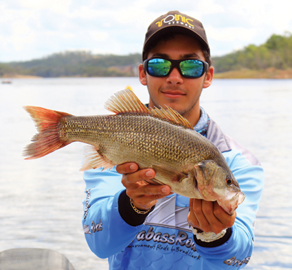 The second-placed Pro angler was Dane Radosevic.