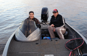 Dylan Fryer and Dallas Harch placed second in the cash section of round two at Bjelke-Petersen Dam and took home $600.