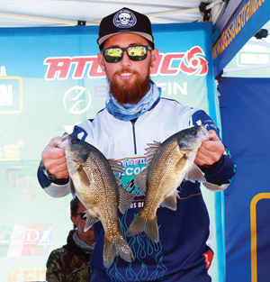 Chris Lindsay placed second in the Co-Angler division.