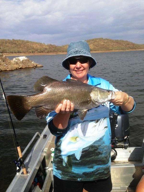 Annette Abraham- 62cm Lake Moondarra Barra