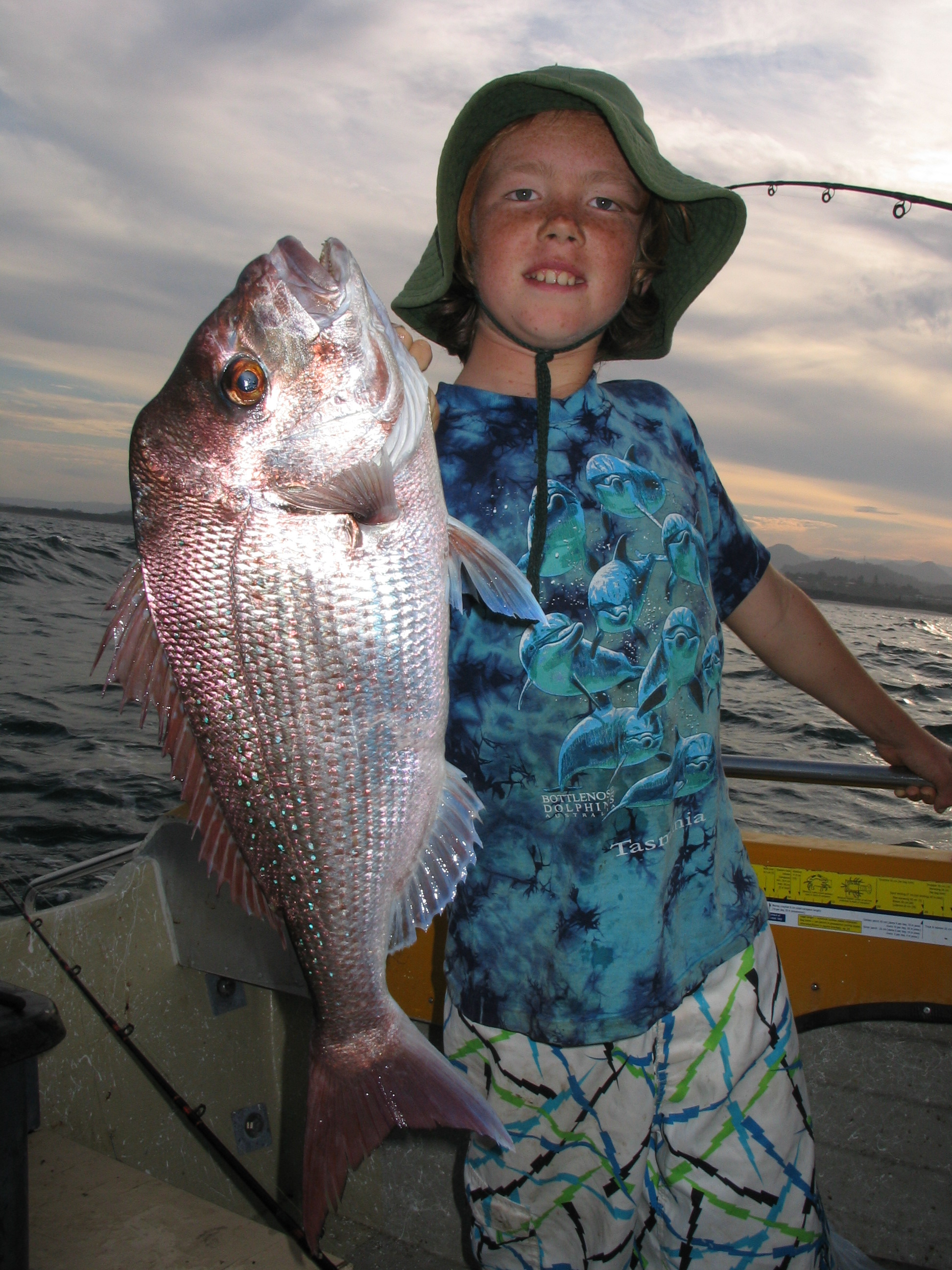 As the sun sets or rises is when the better-quality fish are more easily fooled.