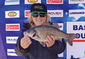 Brittany Evans took out second place at Somerset Dam.