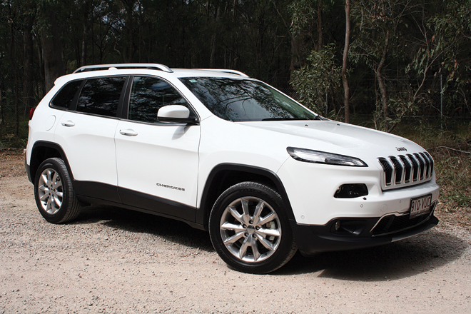 Soft-roading isn't a problem and the Cherokee could in fact handle a decent off-road workout.