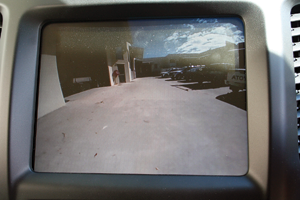 The reversing camera offered excellent clarity day or night.