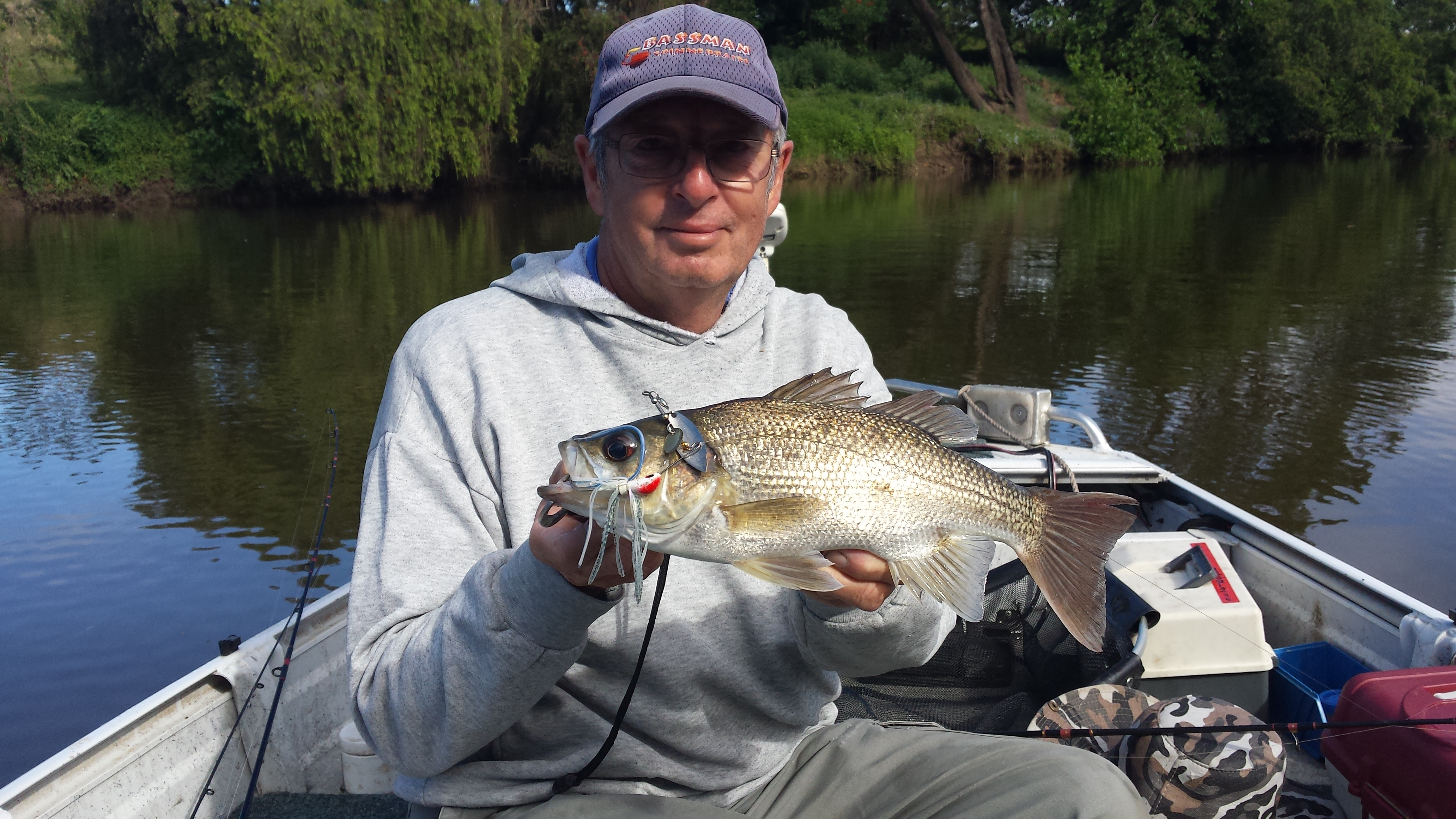True bass fishing gentleman Hans Jensen sadly passed away recently. His amiable nature and fishing nous will be missed by many.