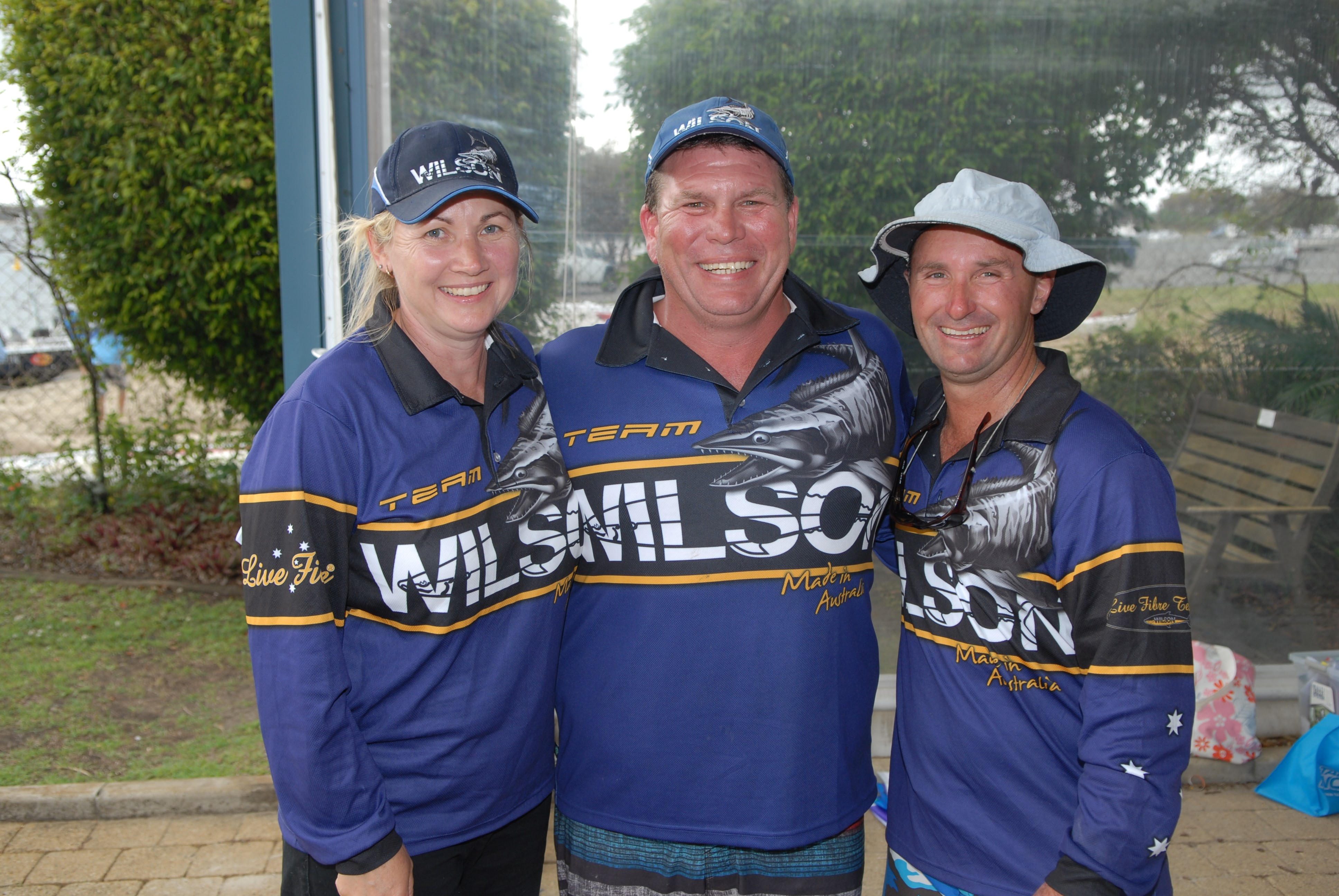 Team Wilson placed first in the Dash for Cash.