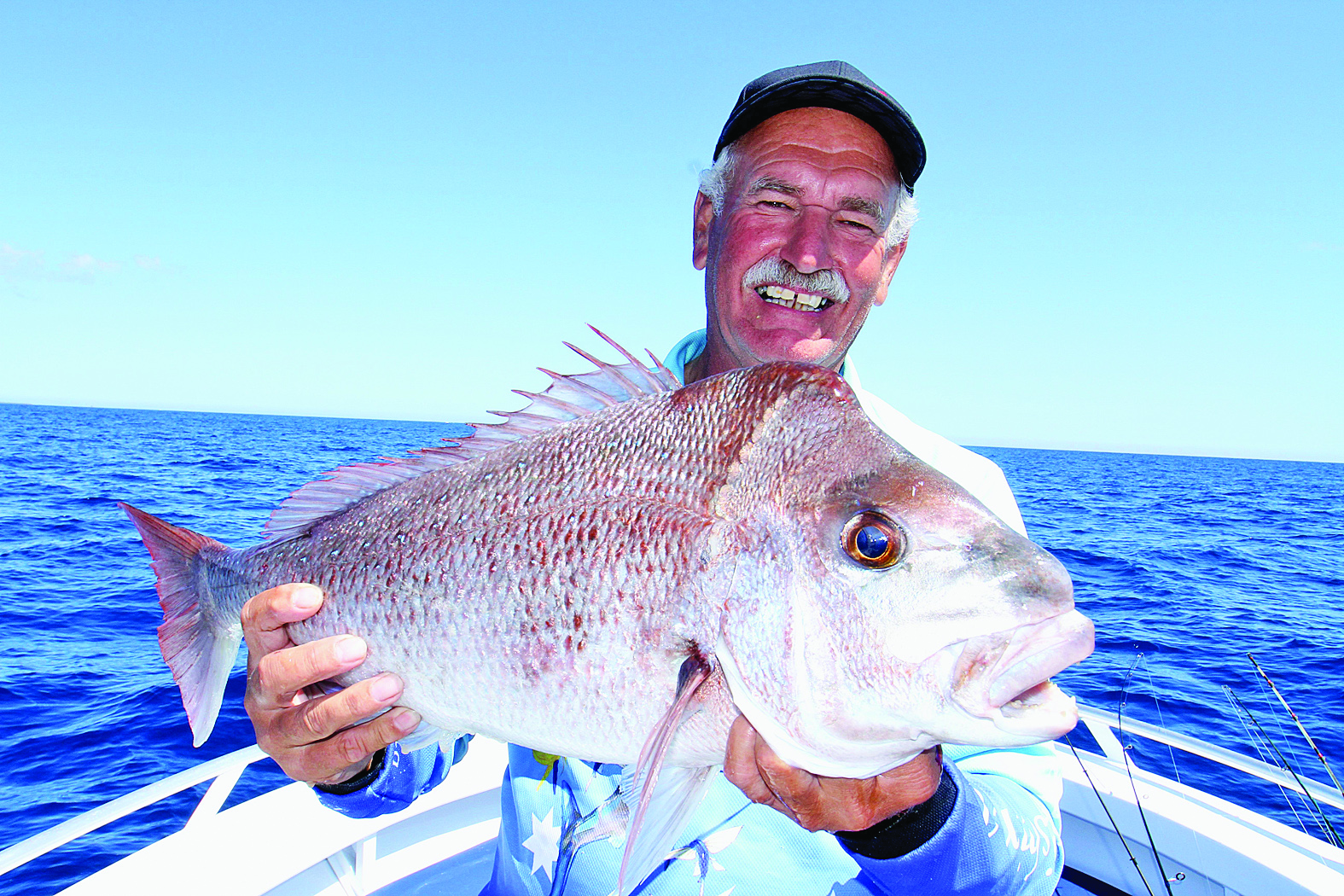 Another Snapper caught on a Gulp 5 inch Pink Shine.