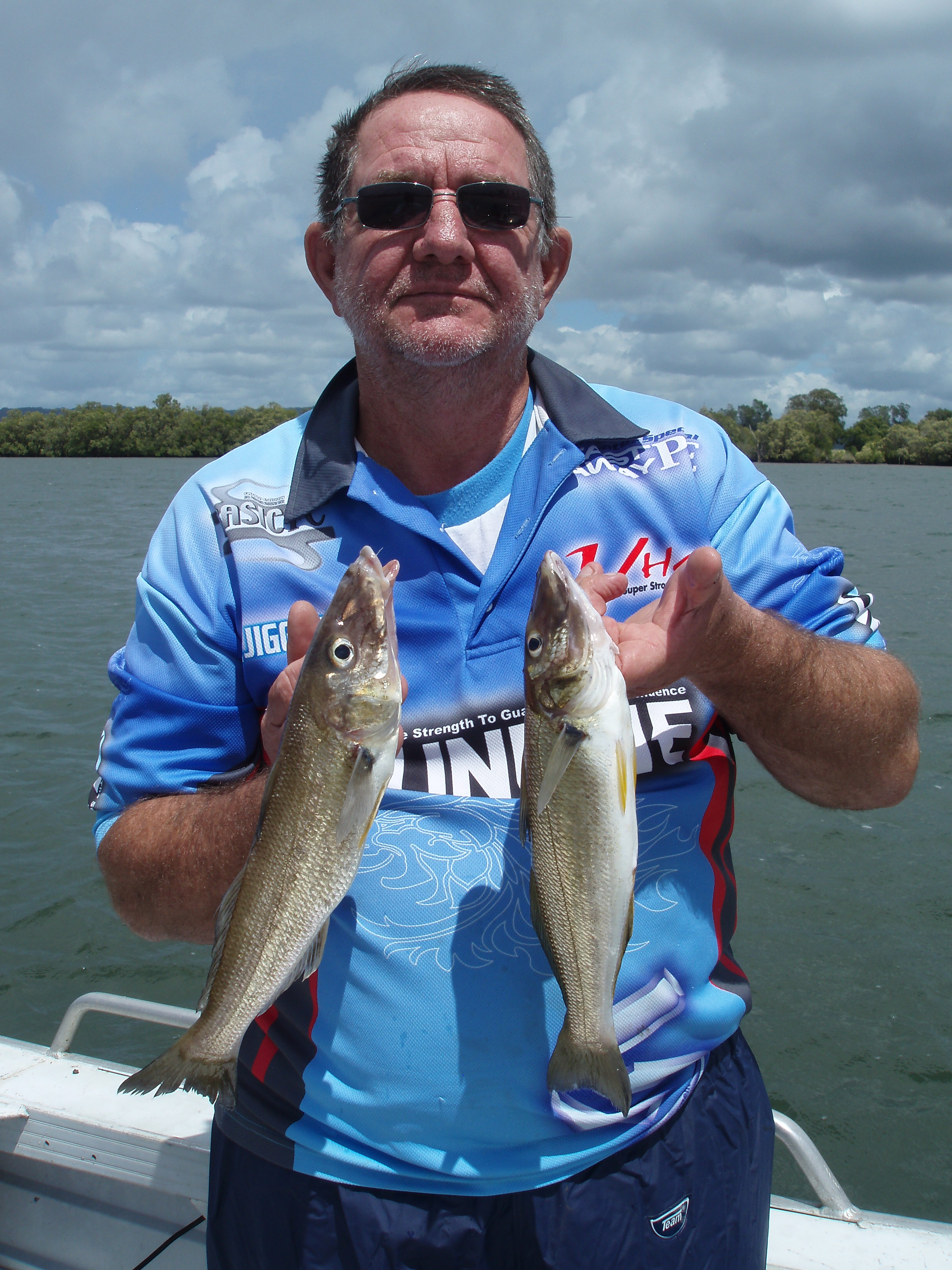 Whiting numbers are going to improve over the next couple of months in the Richmond River.