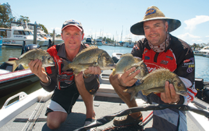 The Clarence produced the goods once again, with quality fish weighed in. Photo: Chris Seeto
