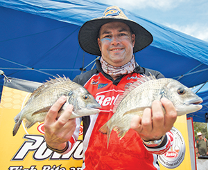 A couple of the better bream that helped Britto secure second place. Photo: Chris Seeto