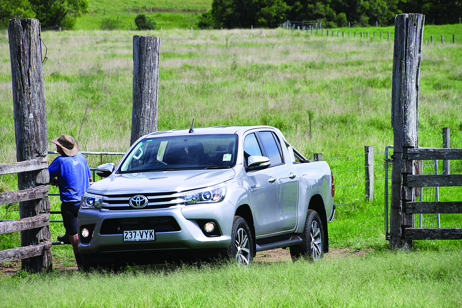 The new HiLux has been totally redesigned from the ground up with a stronger chassis and increased towing capacity, slick new external look and modern interior.