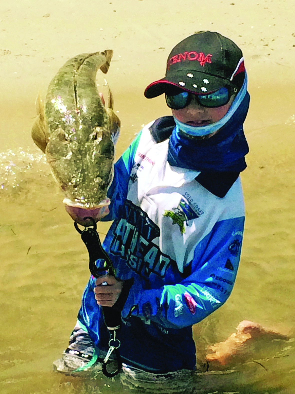 Jesse is a young fisherman with a lot of potential and a passion for the sport.