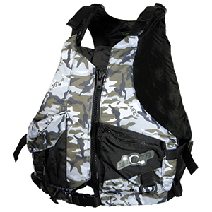 The Level 50 special purpose PFD (Level 50s) has the same buoyancy as the L50 but is not available in high-visibility colours.