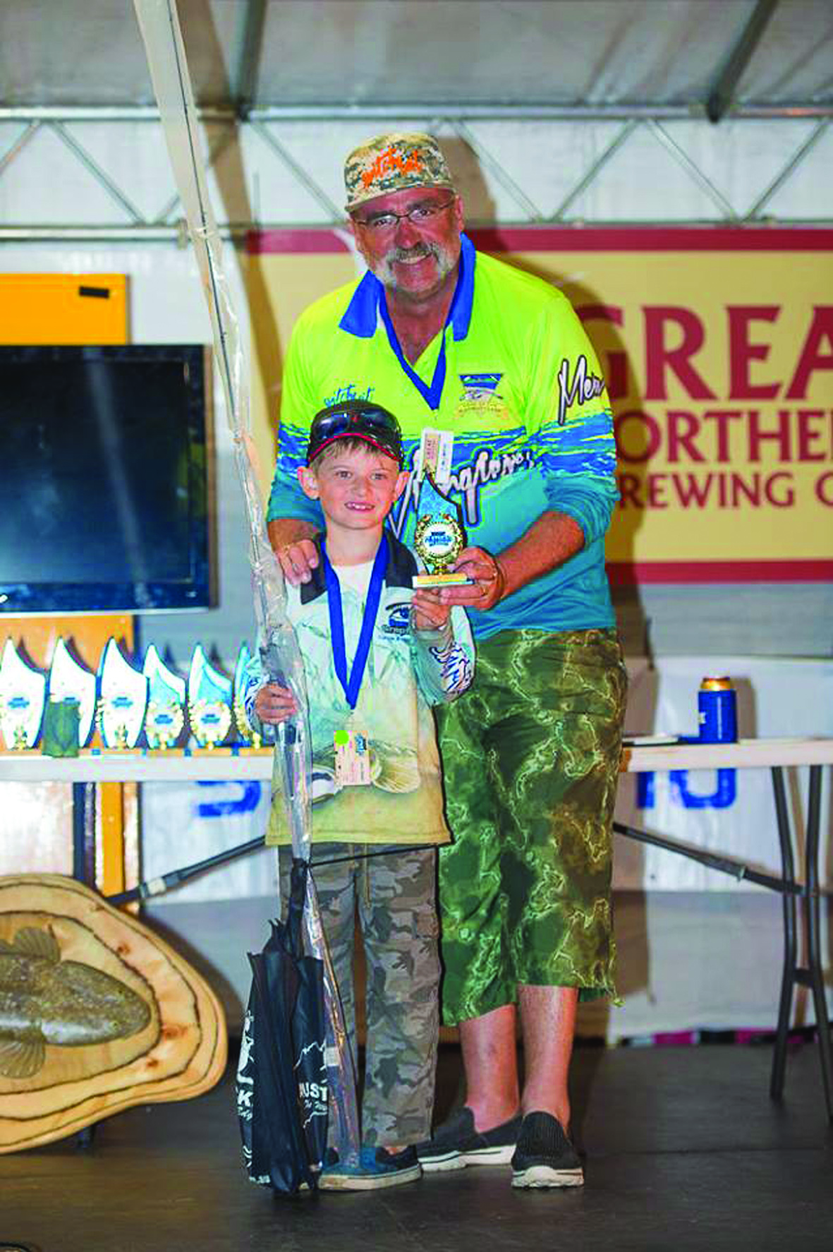 Young Jesse was the junior runner-up in his first Flathead Classic. Great effort mate and well done.