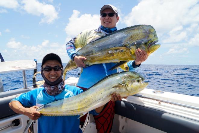 great prizes dolphinfish mahi mahi fad snap selfie queensland