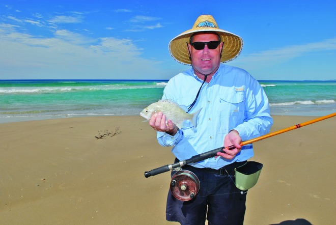 Fishing along the beaches at this time of year will account for a variety of fish.