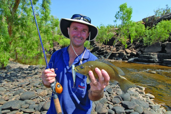 Sooty grunter are a popular target for those fishing in northern Queensland.