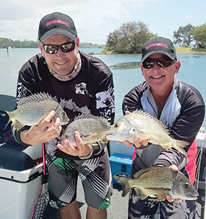 Britto and Lex were rapt with a solid bag that weighed 3.14kg and secured them second place.