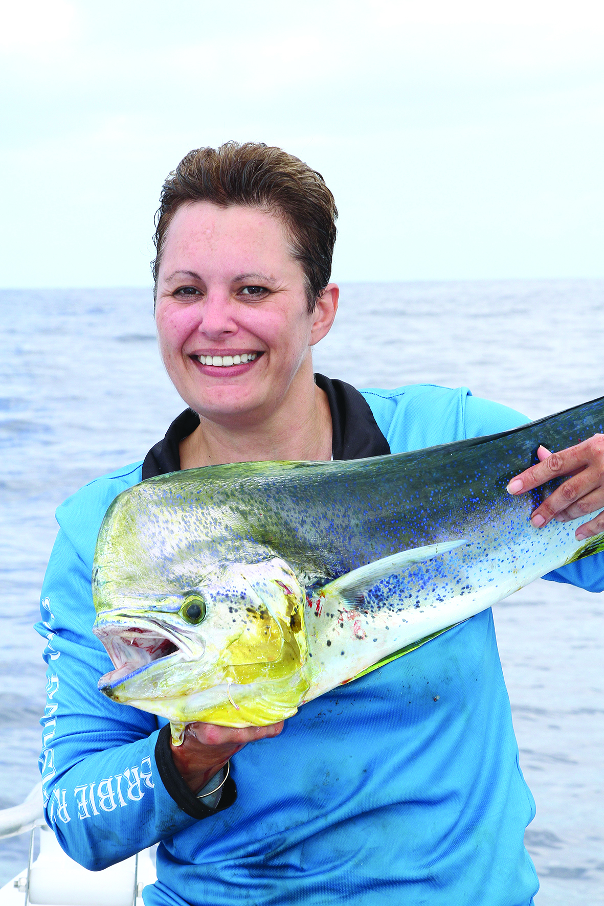 One more dolphin fish caught by Tammy Oostenbroek.