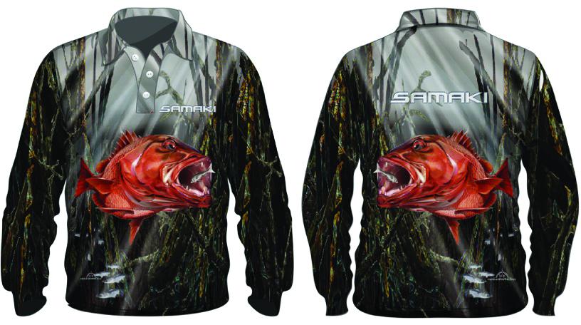 Samaki Mangrove Jack Long Sleeve Shirt