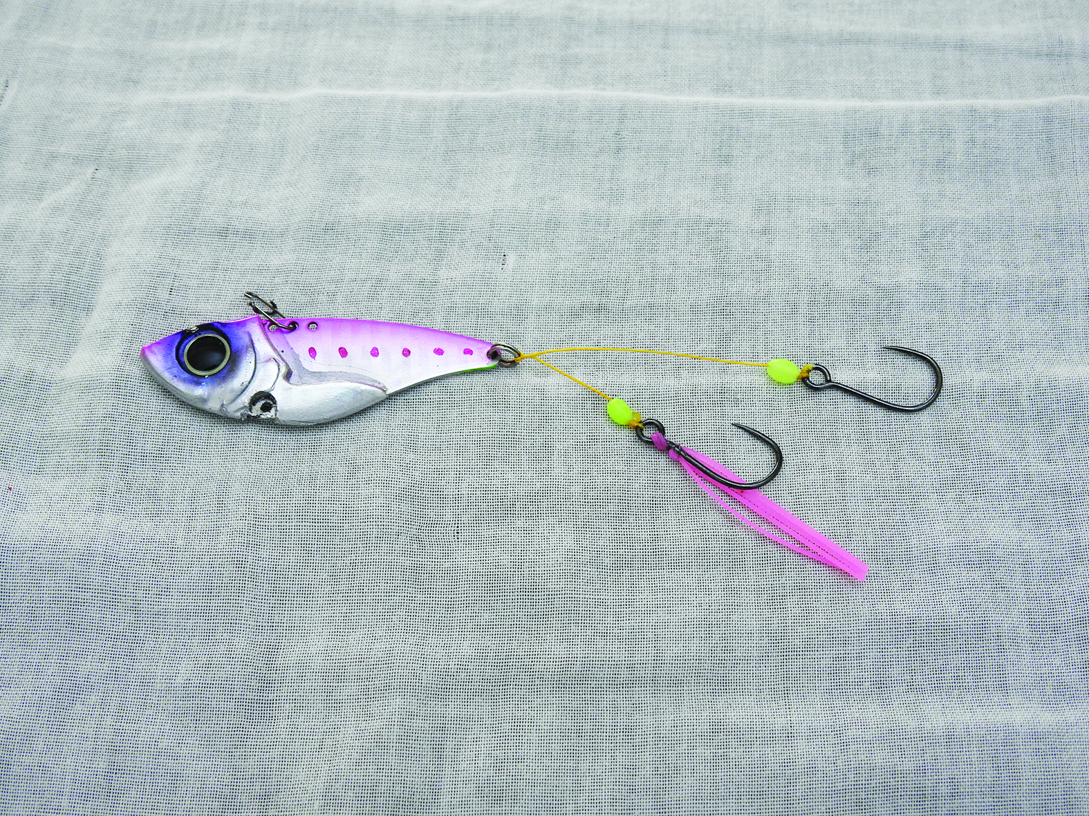 Fit your stingers to the lure.
