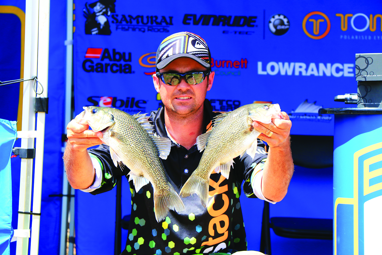 Brad Turner was super consistent and took out the Co-Angler division.