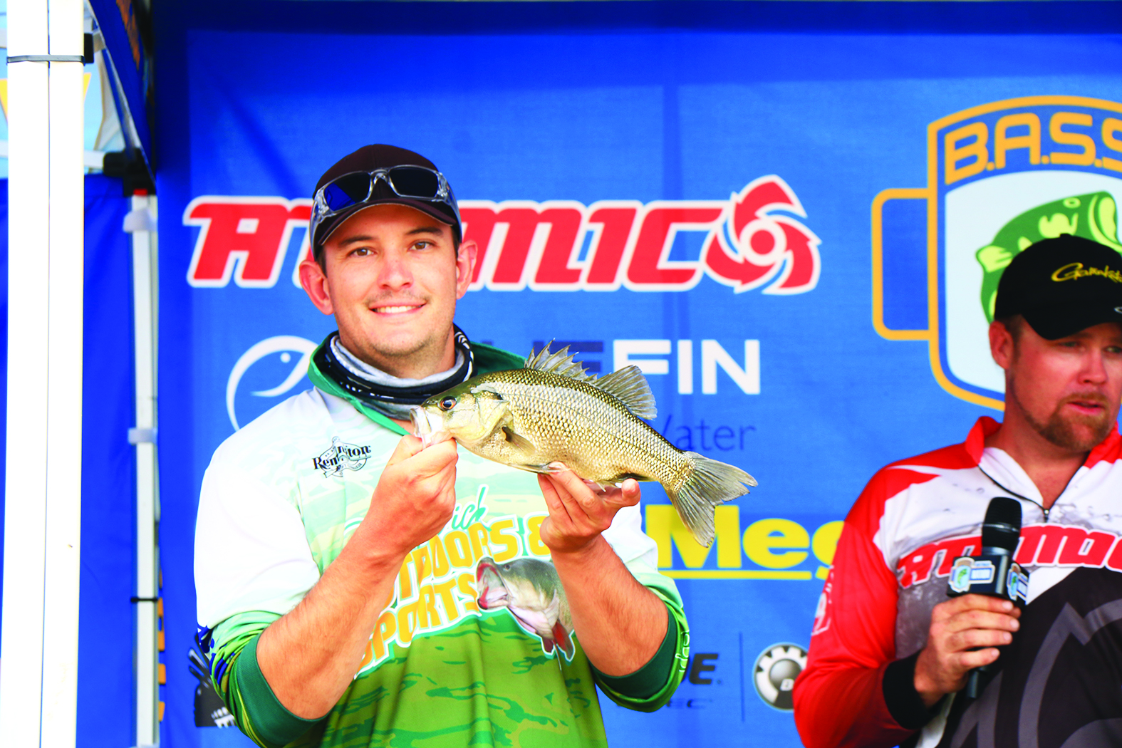 James Buchner took out third in the Co-Angler division at Lake Glenbawn.