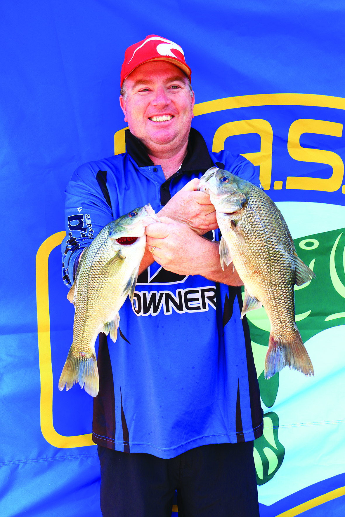 Micheal O'Dowd placed second in the Co-Angler division.