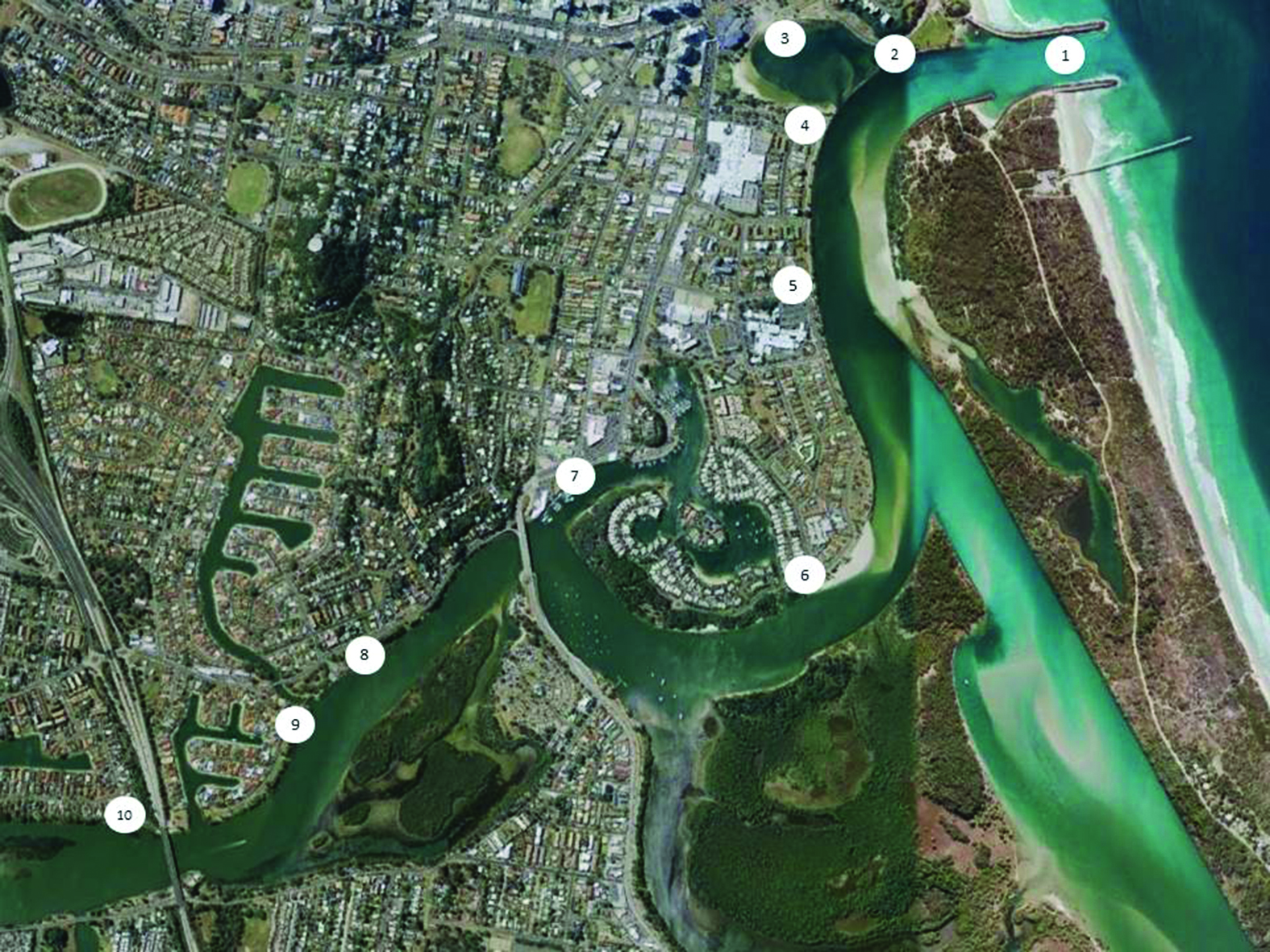 fishing the tweed river map