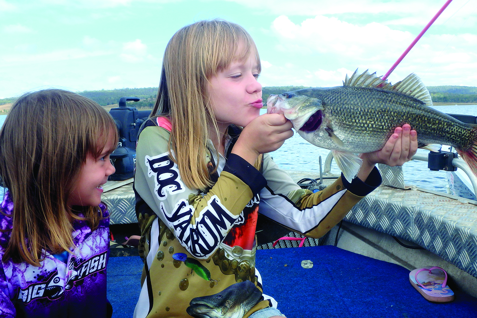 Caitlyn Bryant the fish kisser.