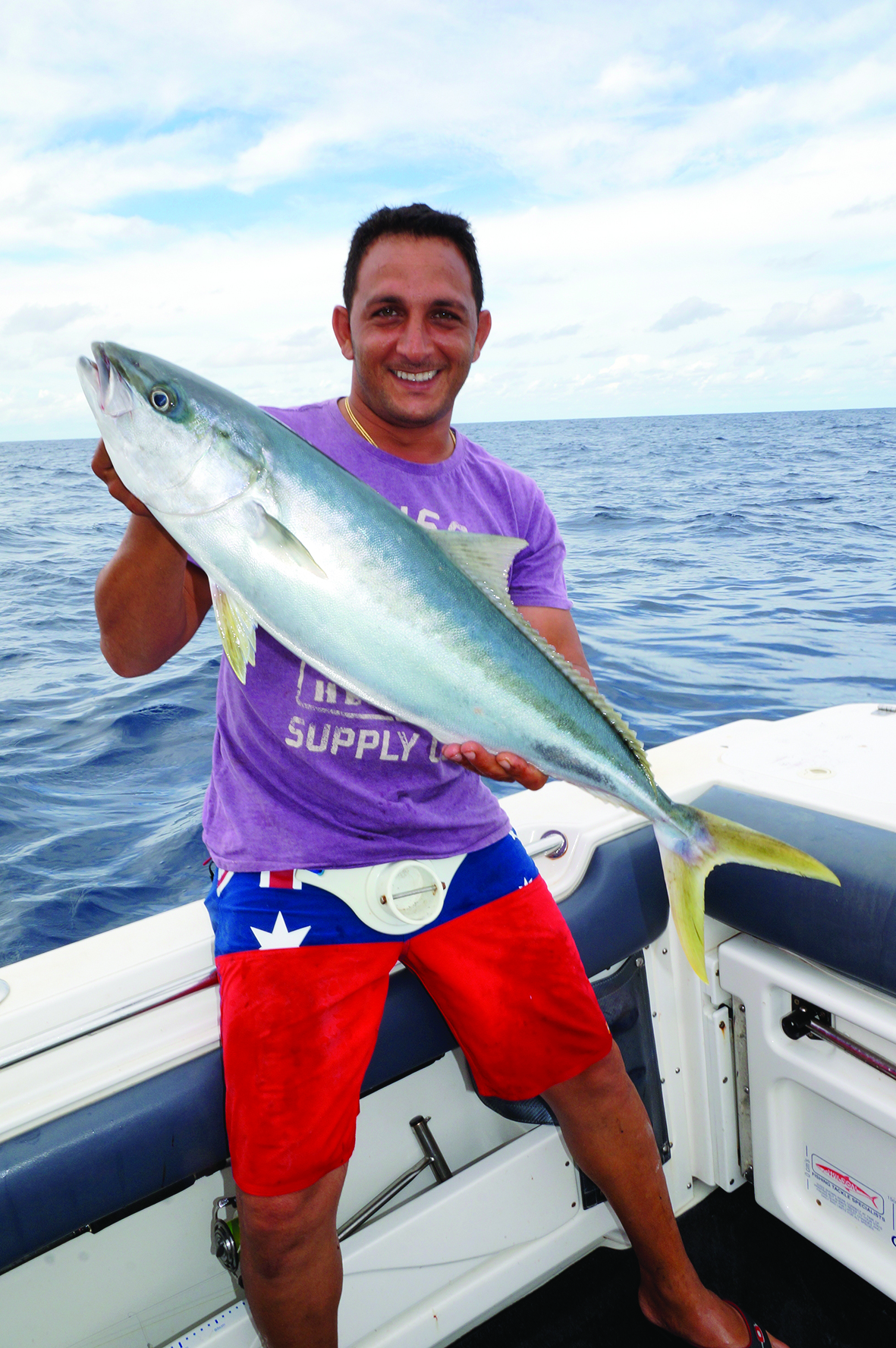 Tarek was all smiles after landing kings of this calibre.