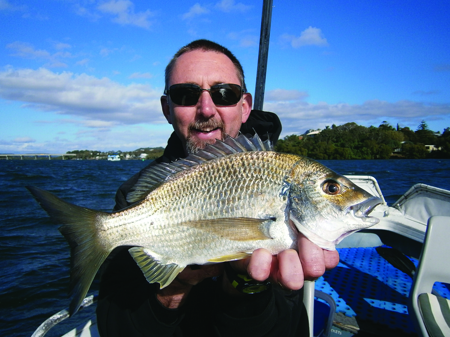 Plenty of big bream should be around the river mouths over the next few months.
