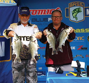 Allan Price and Barry Reynolds from Team Suzuki.