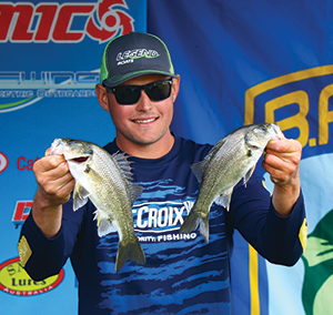 Garry Harmen is chasing down the Co-Angler of the Year title.