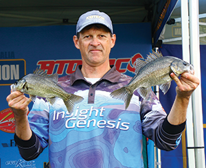 Peter Jenkins flew home to claim third in the standings at Blue Rock Dam.