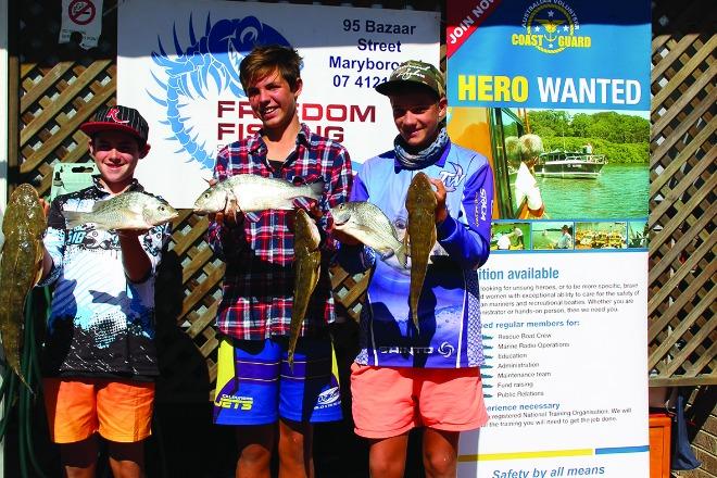 Freedom Fishing & Coast Guard Sandy Straits Family Fishing Competition 2016