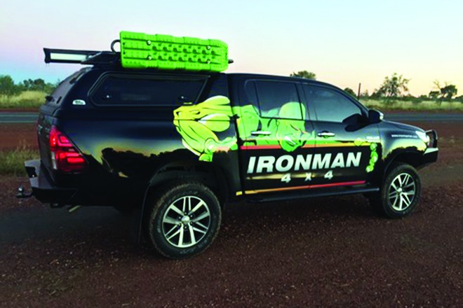 Ironman releases new canopy for Toyota HiLux 1