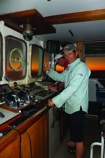 You are in safe hands with very experienced skipper James at the helm.