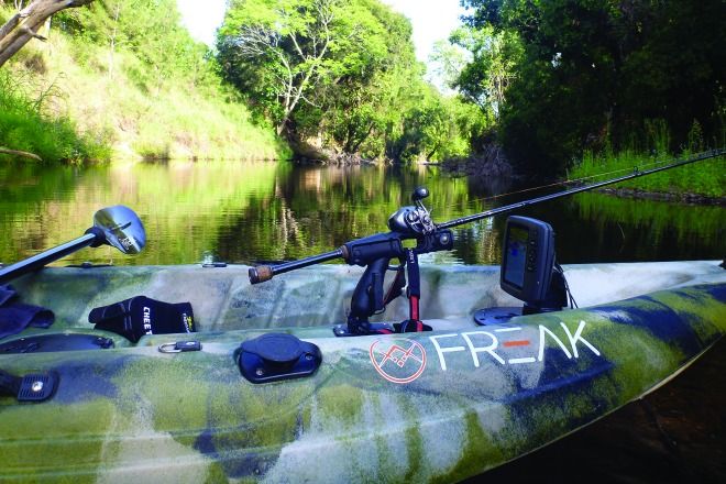 You need to select the right kayak for the terrain.